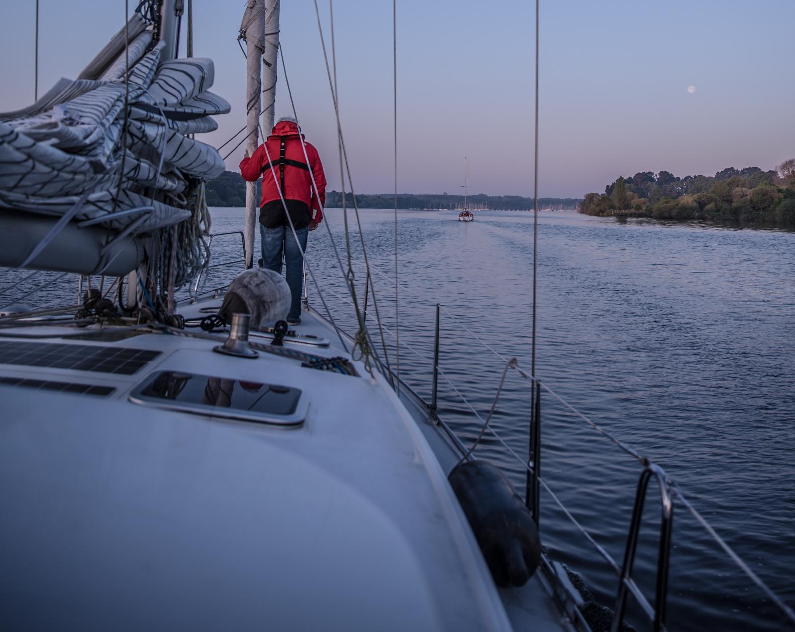 Portrait-Segelboot